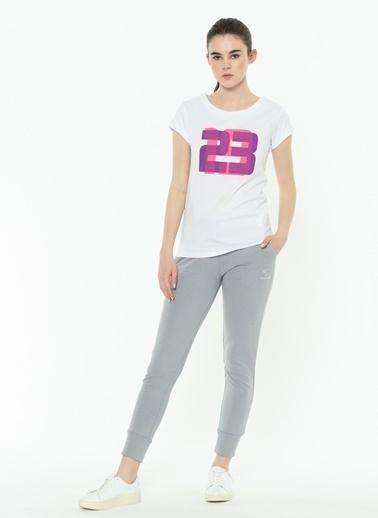 Hummel Kadın Agoptos Tişört 910273-9001 Beyaz